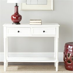 Safavieh Sam Wood Console in Cream