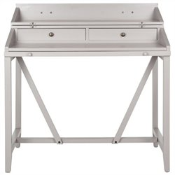 Safavieh Wyatt Pine Writing Desk in Grey