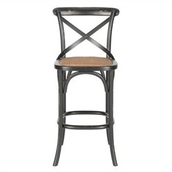 Safavieh Franklin Oak Wood Barstool in Hickory
