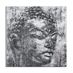 Safavieh Buddha Painting in Black And White