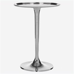 Safavieh Platina Aluminum Table in Silver