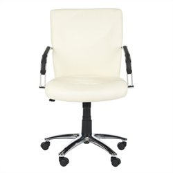 Safavieh Lysette Desk Office Chair in White