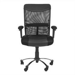 Safavieh Bernard Desk Office Chair in Black