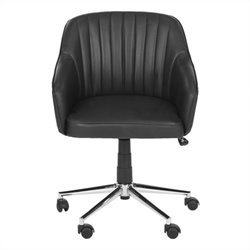 Safavieh Hilda Desk Office Chair in Black