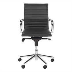 Safavieh Loreley Desk Office Chair in Black