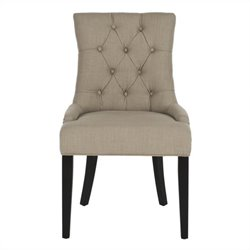 Safavieh Ashley Birch  Kd  Dining Chair in True Taupe (Set Of 2)