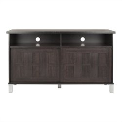 Safavieh Gable 2 Door TV Stand in Dark Brown