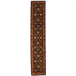 Safavieh Heritage Runner Rug in Black / Red
