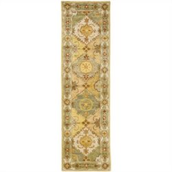 Safavieh Heritage Runner Rug in Multi / Ivory
