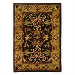 Safavieh Heritage Accent Rug in Charcoal / Beige