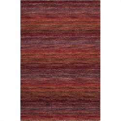 Safavieh Himalaya Rectangle Rug in Red / Multi