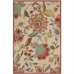 Safavieh Four Seasons Ivory Indoor Outdoor Rug - 3'6