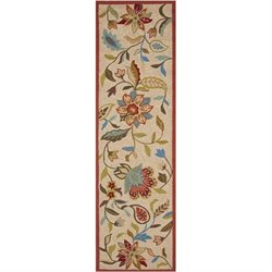 Safavieh Four Seasons Ivory Indoor Outdoor Rug - Runner 2'3