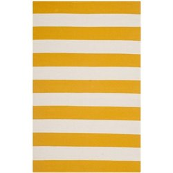 Safavieh Montauk Yellow Contemporary Rug - Runner 2'6