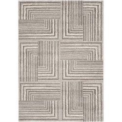 Safavieh Porcello Light Grey Contemporary Rug - 6'7