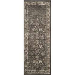 Safavieh Vintage Soft Anthracite Traditional Rug - Runner 2'2