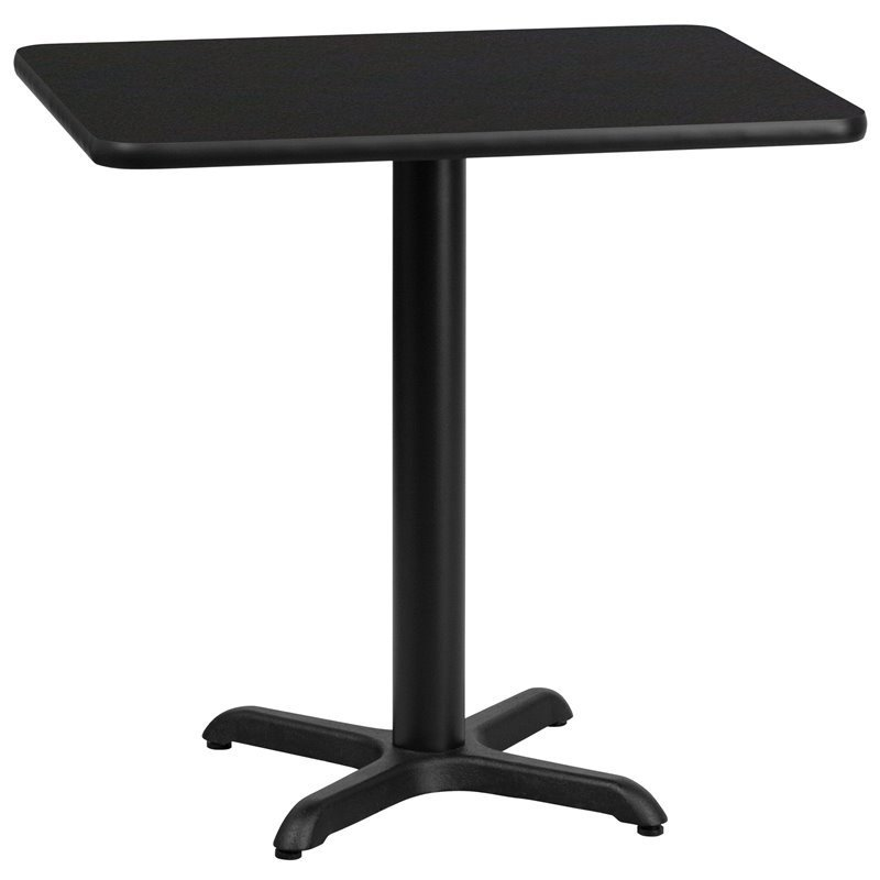 Flash Furniture 24 x 30 Restarant Dining Table in Black