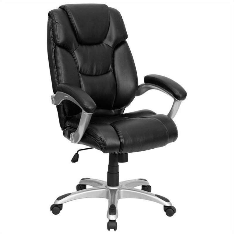 Flash Furniture Office Executive Office Chair in Black