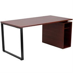 Flash Furniture Computer Desk in Mahogany