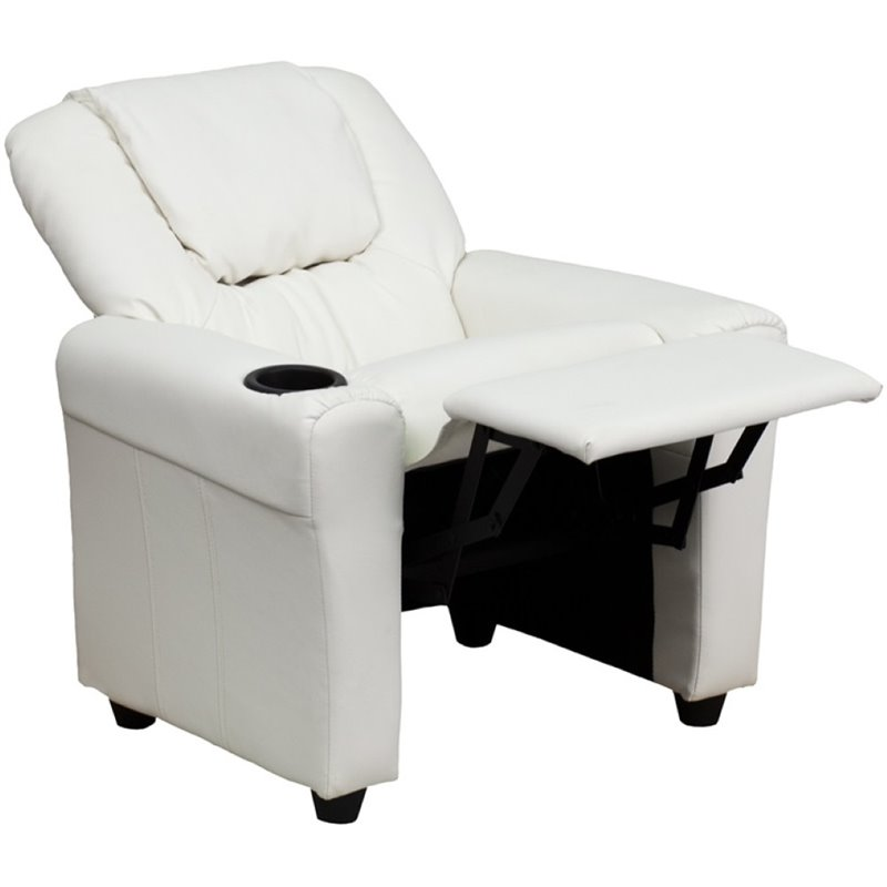Flash Furniture Kids Recliner in White DG-ULT-KID-WHITE-GG