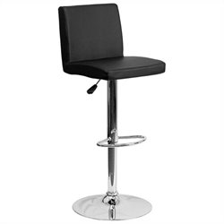 Flash Furniture Contemporary Bar Stool in Black