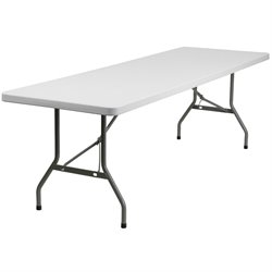 Flash Furniture Folding Table in White