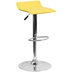 Flash Furniture Backless Bar Stool in Yellow