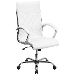 Flash Furniture Designer Executive Office Chair in White