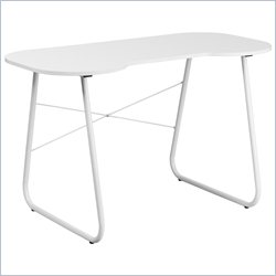 Flash Furniture Computer Desk in White