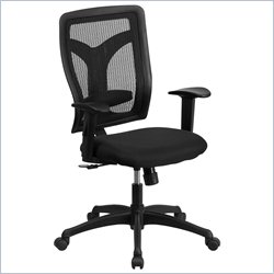 Flash Furniture Galaxy High-Back Office Chair in Black