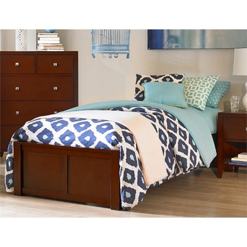 NE Kids Pulse Twin Platform Bed in Cherry