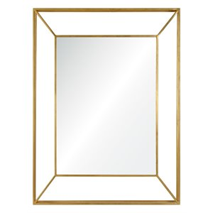 Renwil Orwell Decorative Mirror in Gold
