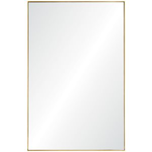 Renwil Modern Glamour Florence Decorative Mirror in Gold Leaf