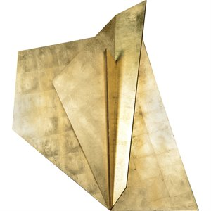 Renwil Leah Wall Sculpture in Gold Leaf