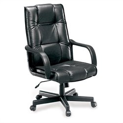 OFM Executive Leather Office Chair in Black