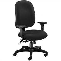 OFM Ergonomic Task Computer Office Chair in Black