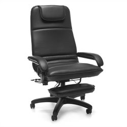 OFM Barrister Executive Office Chair in Black