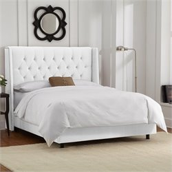 Skyline Furniture Bed in White