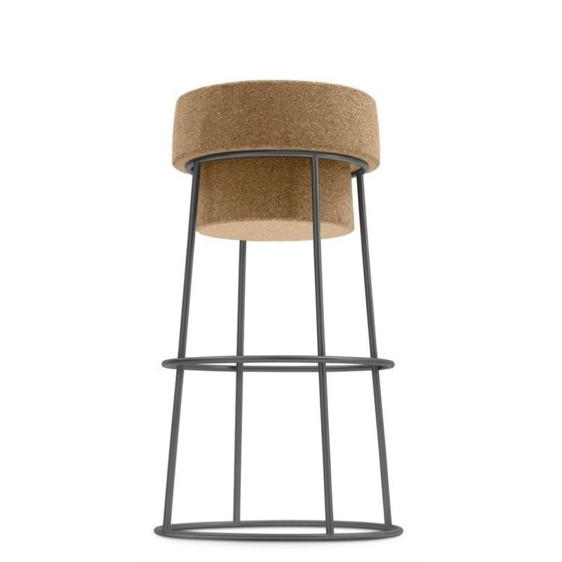 25.25 Counter Stool In Anthracite
