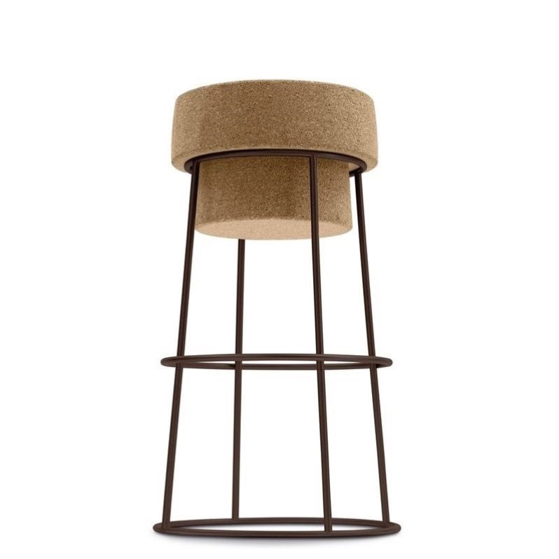 25.25 Counter Stool In Rust