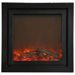 Yosemite Perseus 49'' Insert Electric Fireplace in Black
