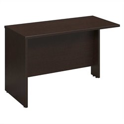 Bush Business Furniture Series C 48W Return Bridge in Mocha Cherry