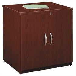 Bush Business Furniture Series C 30W Storage Cabinet in Mahogany