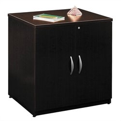 Bush BBF Series C 30W Storage Cabinet in Mocha Cherry