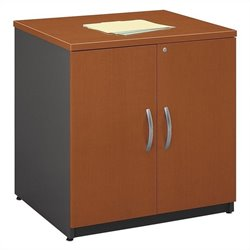 Bush Business Furniture Series C 30W Storage Cabinet in Auburn Maple