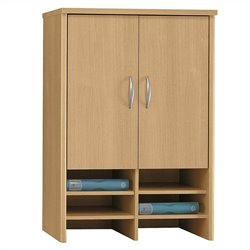 Bush Business Series C 30W Hutch in Light Oak