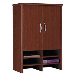 Bush Business Furniture Series C 30W Hutch in Mahogany