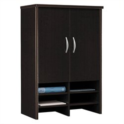 Bush Business Furniture Series C 30W Hutch in Mocha Cherry