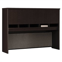 Bush Business Furniture Series C 60W Hutch in Mocha Cherry