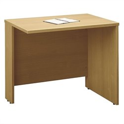 Bush Business Furniture Series C 36W Return Bridge in Light Oak